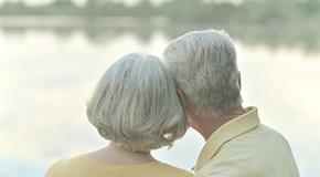 Elder Couple at Lake