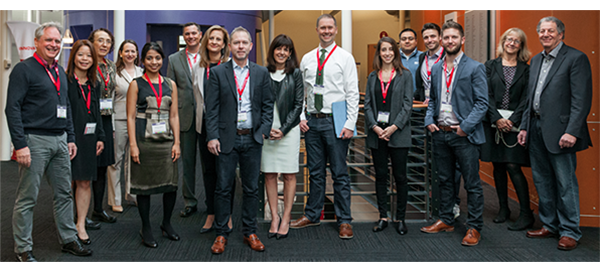 photo showing all of the AARP Innovations winners
