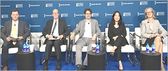 Liz Loewy participating in Older Americans Month at Milken Institute Global Conference