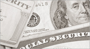 Photo illustration of Social Security Card