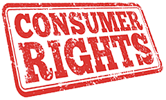 Consumer Rights in red letters.