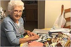 Grandma, Teresa Provo, Making Masks