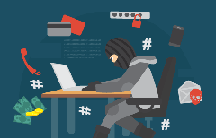ID Theft Illustration