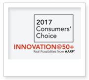 AARP Innovation 50+ 2017 Consumers' Choice Award
